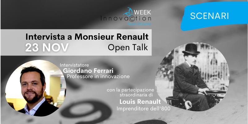 23/11 – Intervista a Monsieur Renault